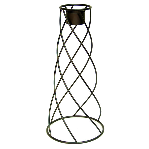 "Echo Valley 9129 21"" Wrought Iron Helix Globe Stand"""