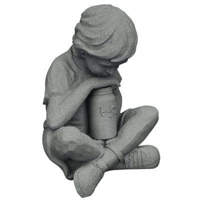 "Emsco Group 2226-1 22"" X 23"" X 25.5"" Granite Boy &Jar Statue"""