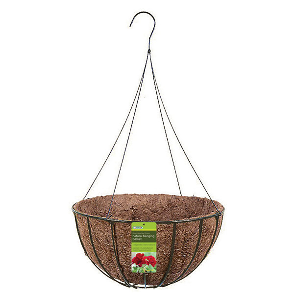 "Gardman R421 14"" Black Wire Grower Basket"""