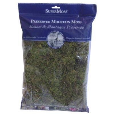 Super Moss 23802 Green Sphagnum Fine Preserved Mountain Moss