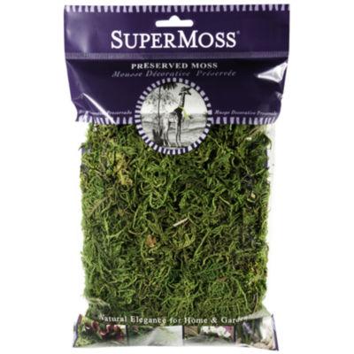 Super Moss 25320 2 Oz Fresh Green Forest Moss Preserved