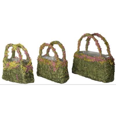 Super Moss 55700 Fresh Green Color Beaumont Lavender Purse Set of 3