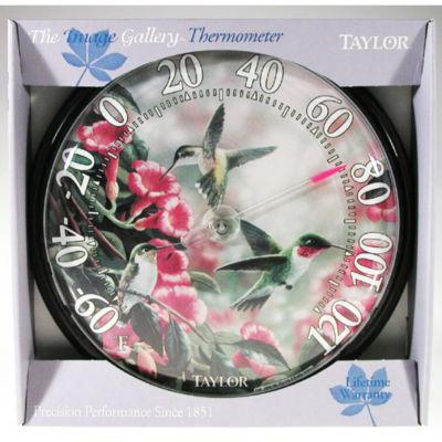 "Taylor 6708N 13-1/4"" Hummingbird Thermometer"