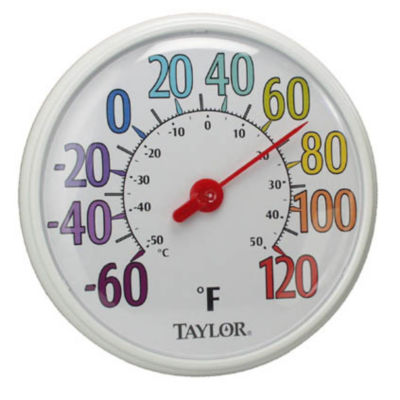 """Taylor 6714 13-1/4"""" Color Track Thermometer"""