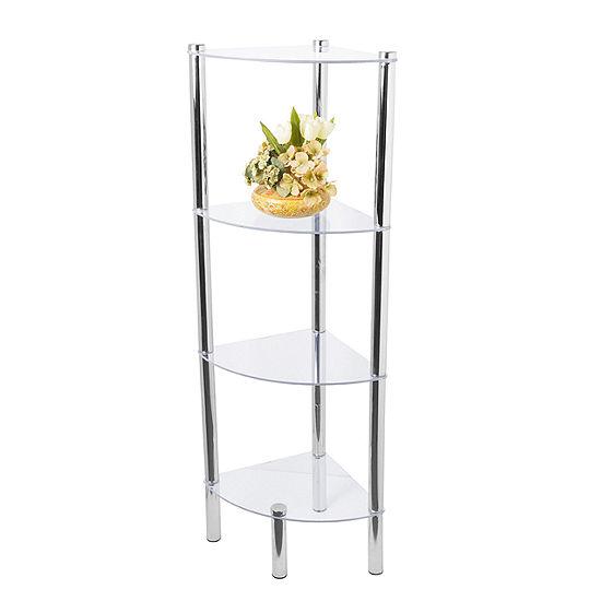 Home Basics 4-Tier Corner Shelf