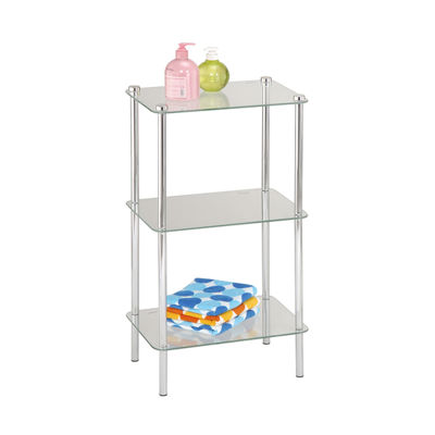 Home Basics 3-Tier Corner Shelf
