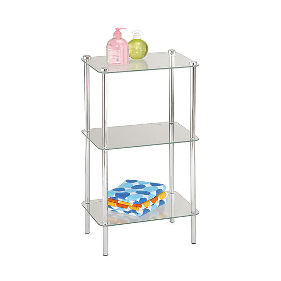 Home Basics 3-Tier Corner Shelf