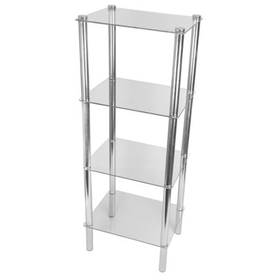 Home Basics 4 Tier Corner Shelf