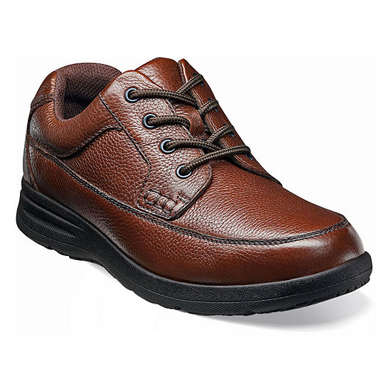 Nunn Bush Mens Cam Moc Toe Casual Oxford Shoes