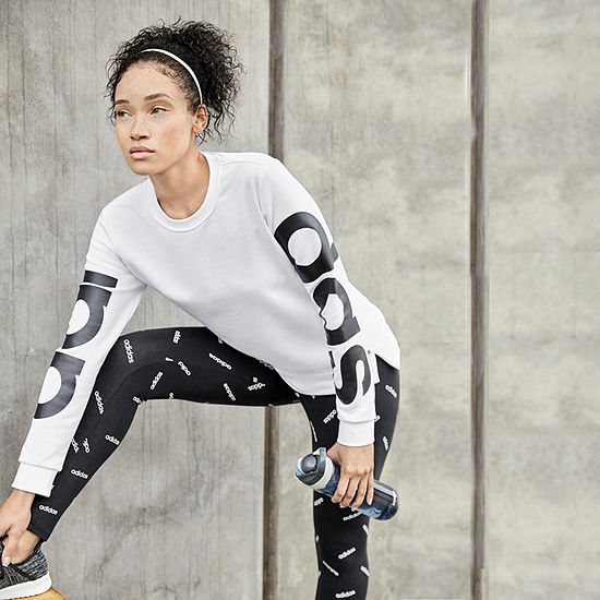 Adidas Branded Graphic Pullover