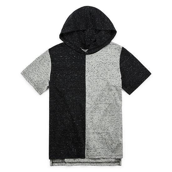 Arizona Boys Hooded Neck Short Sleeve T-Shirt Preschool / Big Kid