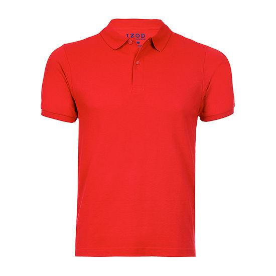 IZOD Young Mens Short Sleeve Polo Shirt