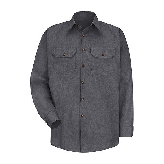 Red Kap® Poplin Uniform Shirt - Big & Tall