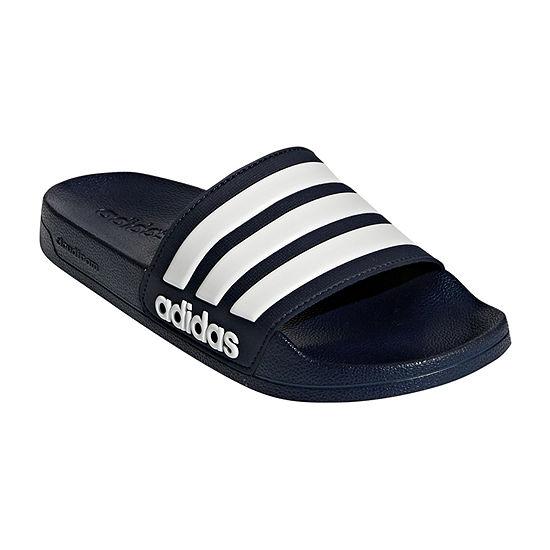 adidas Mens Adilette Cloudfoam Slide Sandals
