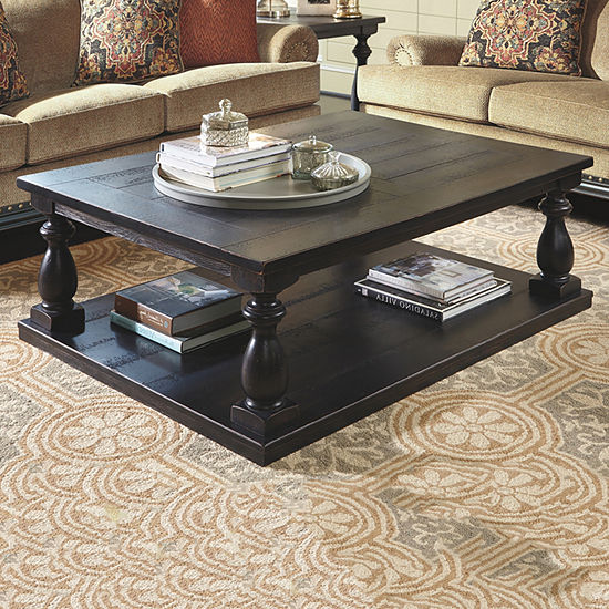 Signature Design by Ashley® Mallacar Rectangular Coffee Table