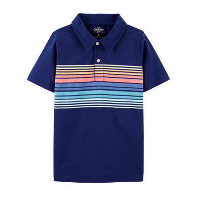 Oshkosh Boys Short Sleeve Polo Shirt