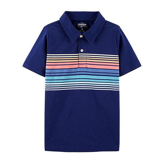 Oshkosh Boys Short Sleeve Polo Shirt Preschool