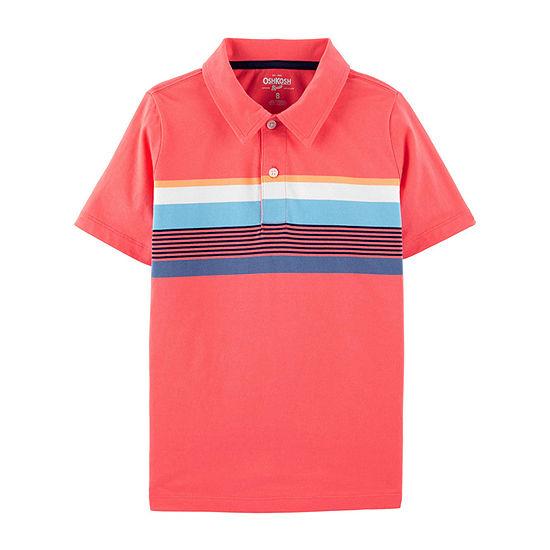 Oshkosh Boys Short Sleeve Polo Shirt - Preschool