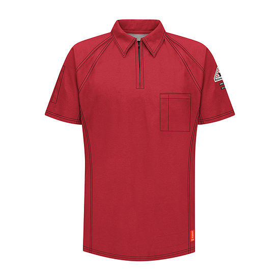 Bulwark® Flame-Resistant Short-Sleeve Polo