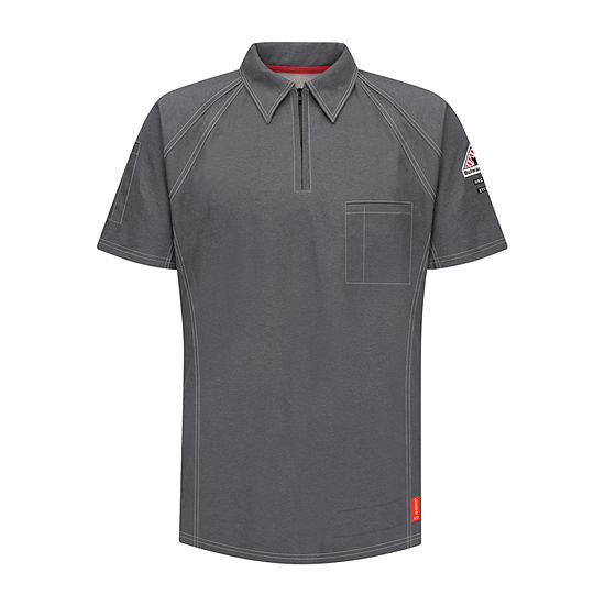 Bulwark® Flame-Resistant Short-Sleeve Polo - Big & Tall