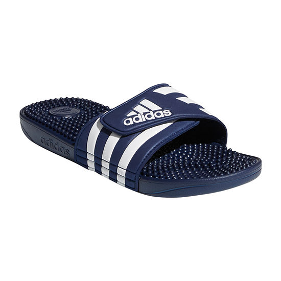 59f5643eb adidas Mens Adissage Slide Sandals JCPenney