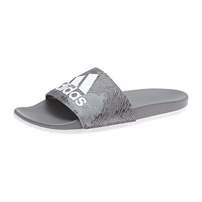adidas Mens Adilette Cloudfoam + Logo Slide Sandals
