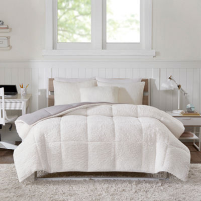 Intelligent Design Jensen Hypoallergenic Reversible Comforter Set