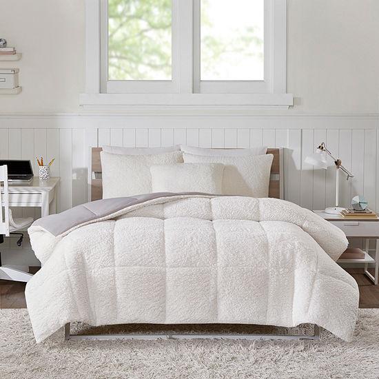 Intelligent Design Jensen Hypoallergenic Reversible Comforter Set