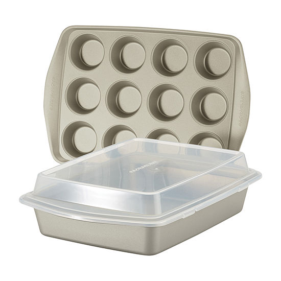 Rachael Ray 3-pc. Non-Stick Bakeware Set