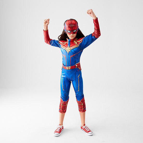 Captain Marvel Dress Up Costume