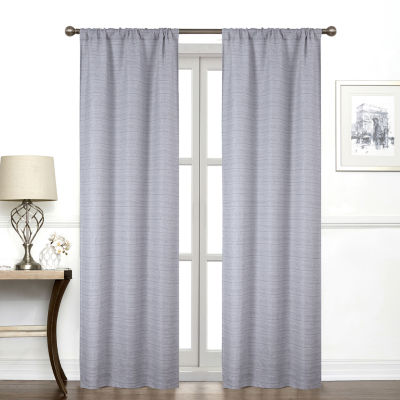Regal Home Collections, Inc. York Light-Filtering Rod-Pocket Single Curtain Panel