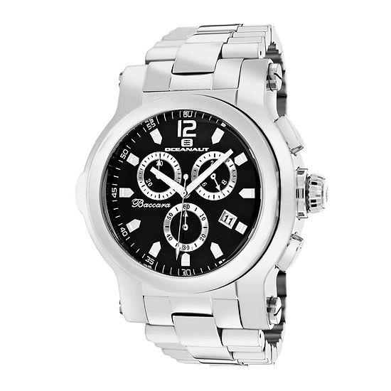 Oceanaut Mens Baccara XL Black Bracelet Watch