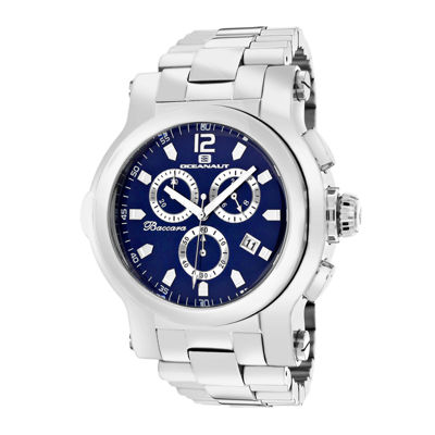 Oceanaut Mens Baccara XL Blue Bracelet Watch