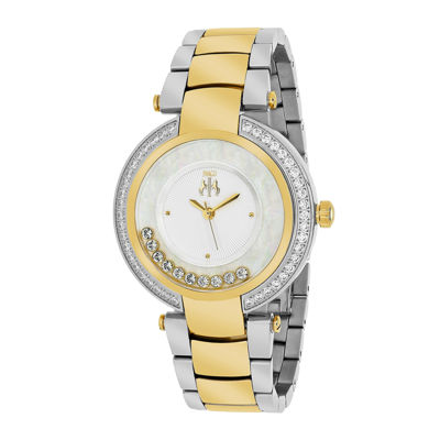 Jivago Womens Celebrate Two-Tone & Silver Bracelet Watch
