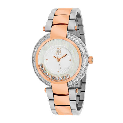 Jivago Womens Celebrate Pink Bracelet Watch