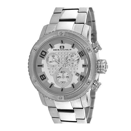 Oceanaut Mens Impulse Stainless Steel Chronograph Watch