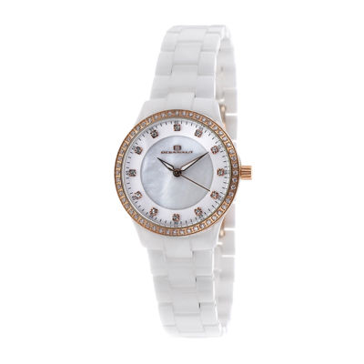 Oceanaut Ceramic Womens Mother-of-Pearl Dial and White Ceramic Bracelet Watch
