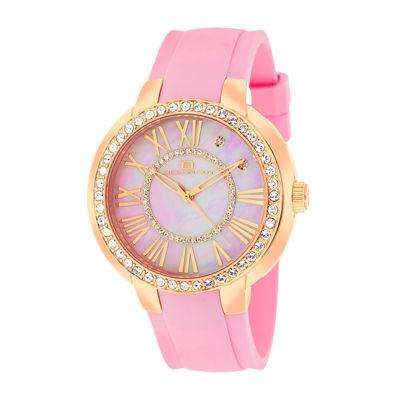 Oceanaut Womens Allure Faux Pearl Pink Strap Watch