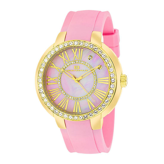 Oceanaut Womens Allure Pink Strap Watch