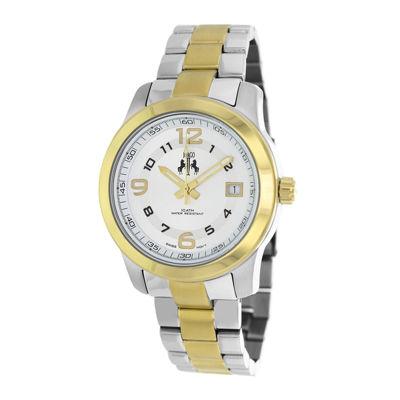 Jivago Infinity Womens Two-Tone Bracelet Watch