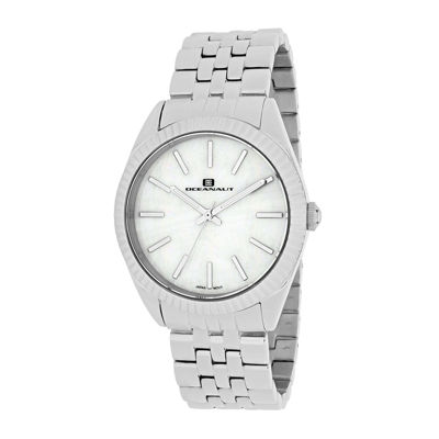 Oceanaut Chique Womens White Dial Stainless Steel Bracelet Watch