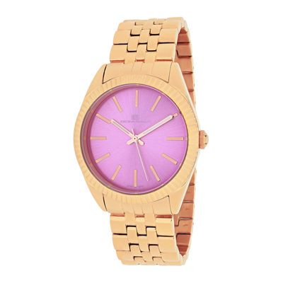 Oceanaut Chique Womens Pink Dial Stainless Steel Bracelet Watch