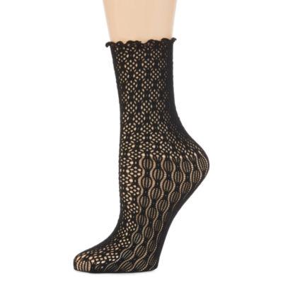 Legale® Mesh Trouser Girly Ankle Socks