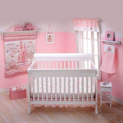Disney Princess Happily Ever After 3-pc. Crib Bedding Set