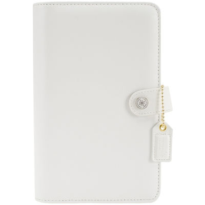 Webster's Pages Personal Planner Binder - White