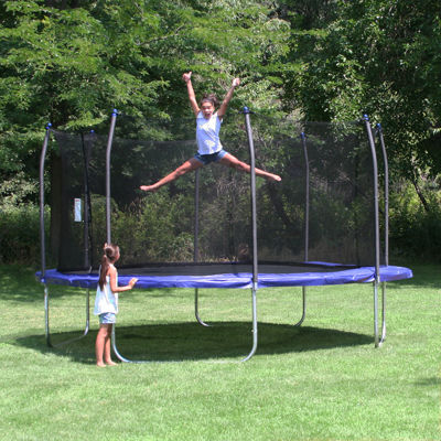 Skywalker Trampolines 13' Square Trampoline with Enclosure Net