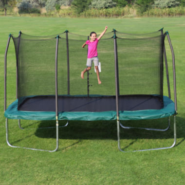 Skywalker Trampolines 14' Rectangle Trampoline with Enclosure Net
