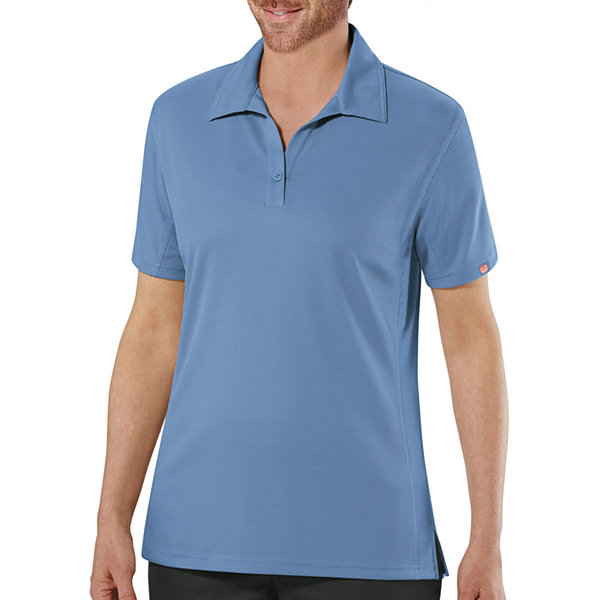 Red kap womens short sleeve performance polo plus jcpenney for Jcpenney ladies polo shirts