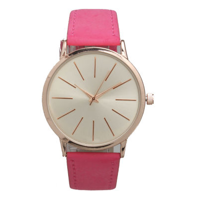 Olivia Pratt Womens Pink Strap Watch-16243