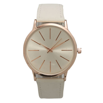 Olivia Pratt Womens White Strap Watch-16243